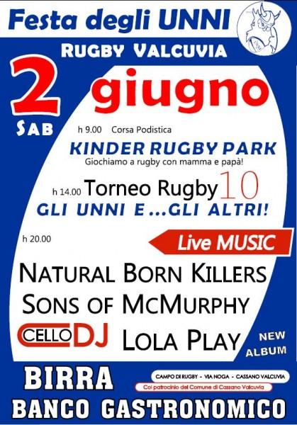 """Torneo Rugby 10 """"Gli Unni e gli Altri"""""""