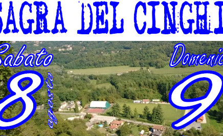 Sabato 8 e Domenica 9 Agosto, presso il Campo di Rugby di Cassano Valcuvia... LA SAGRA DEL CINGHIALE