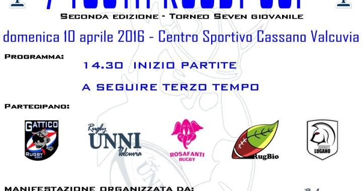 Seconda tappa torneo UISP giovanile Seven di Cassano Valcuvia