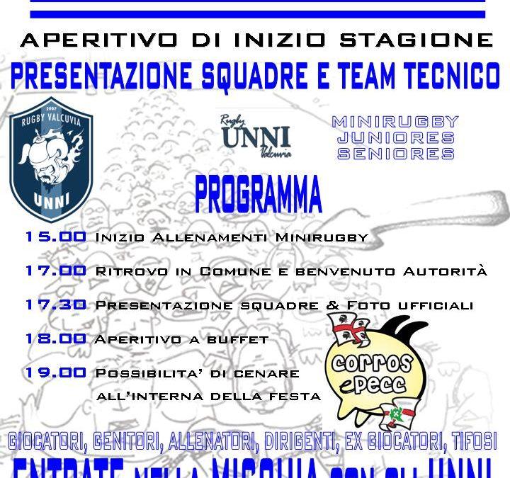 Presentazione ufficiale delle squadre e Open-day